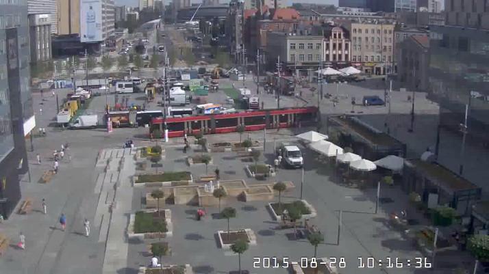 Zdjęcie rynku w Katowicach